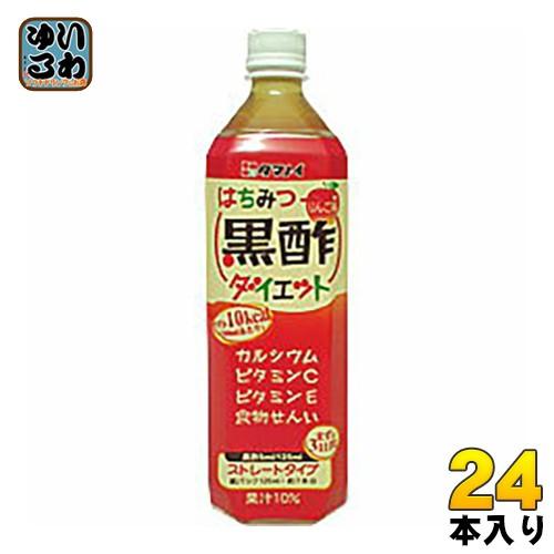 タマノイ はちみつ黒酢ダイエット 900ml ペットボトル 24本 (12本入×2 まとめ買い)