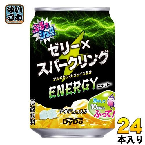 ダイドー ぷるっシュ !! ゼリー × スパークリング エナジー 280g 缶 24本入