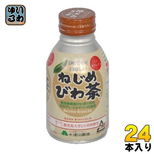 十津川農場 ねじめびわ茶 290ml 缶 24本入