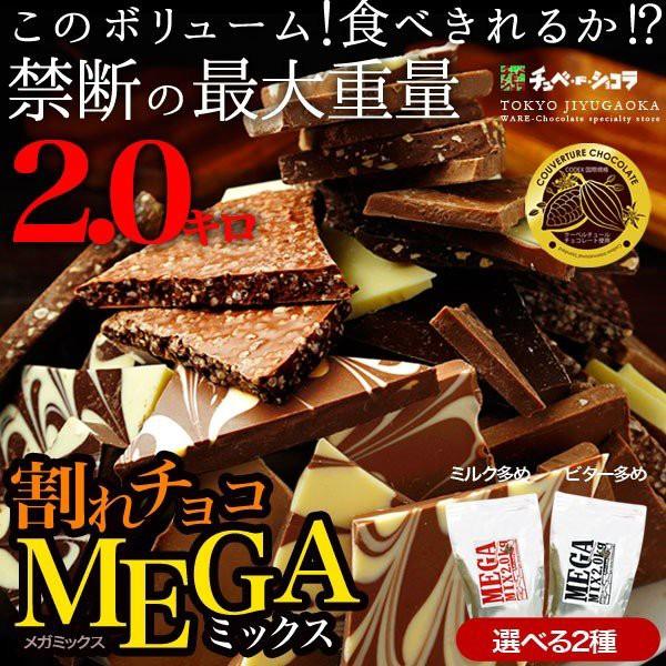 割れチョコメガミックス 10種 2kg チョコレート チュベ・ド・ショコラ 蒲屋忠兵衛商店 big_dr