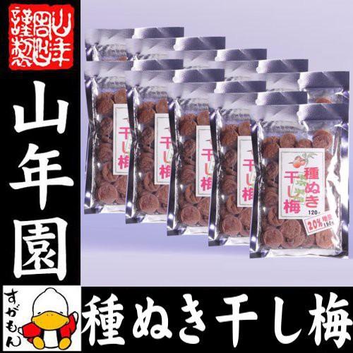 種抜き干し梅 種なし 120g×10袋セット 梅干し 美味しい干し梅 贈り物 ギフト うめぼし 種なし干し梅 種なし ほしうめ お菓子 送料無料