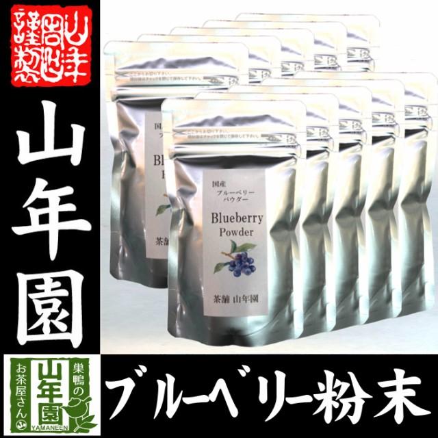 【国産】 ブルーベリー粉末 50g×10袋 無農薬で栽培されたブルーベリーを粉末に 無添加 果実本来の甘みをアイス ヨーグルトに 健康 送料