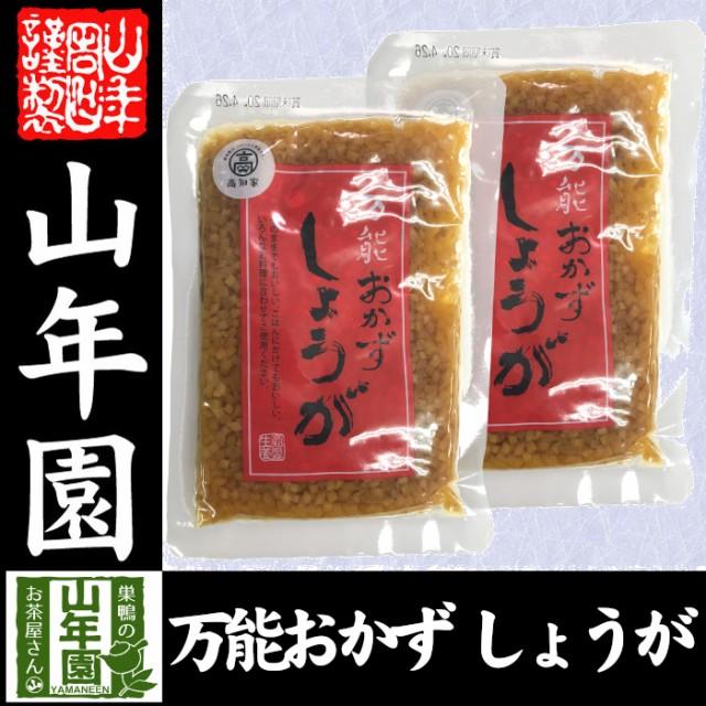 【国産】万能おかず生姜 130g×2袋セット 高知県産のしょうがしょうゆ漬(刻み)高知家 焼き魚の付け合わせ 豆腐の薬味 お好み焼きの具材