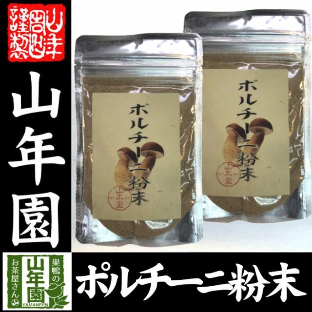 【本場イタリア産無農薬100%】 ポルチーニ茸の粉末 40g×2袋 無農薬で栽培されたポルチーニ茸を温風乾燥させて粉末に 健康 送料無料 緑茶