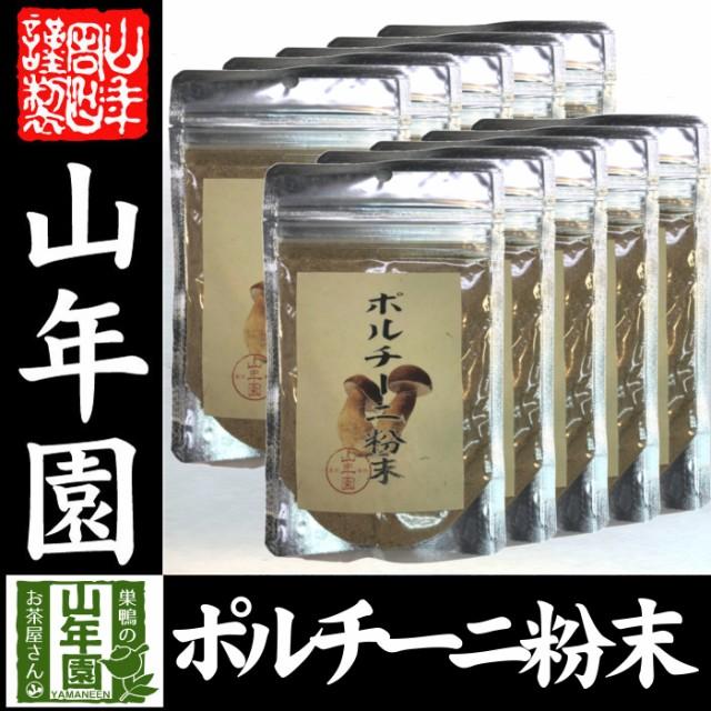 【本場イタリア産無農薬100%】 ポルチーニ茸の粉末 40g×10袋 無農薬で栽培されたポルチーニ茸を温風乾燥させて粉末に 健康 送料無料 緑