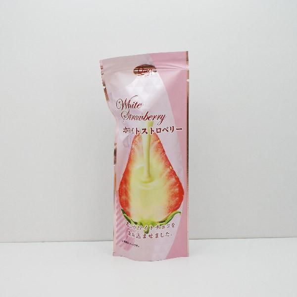 ホワイトストロベリー(袋)(信州長野県のお土産 お菓子 洋菓子 お取り寄せ ご当地スイーツ 苺 チョコレート菓子 フルーツ)