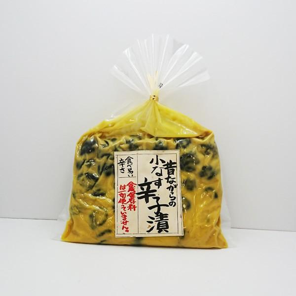昔ながらの小なす辛子漬(信州長野県のお土産 おみやげ 茄子漬け からし漬物 漬け物 お取り寄せ ご当地グルメ)