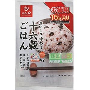 はくばく 十六穀ごはん お徳用(30g×15袋入)