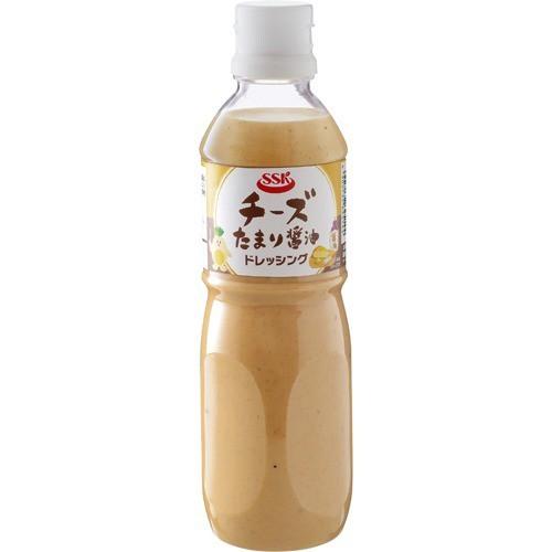 【SSK チーズたまり醤油ドレッシング 490ml×2本】