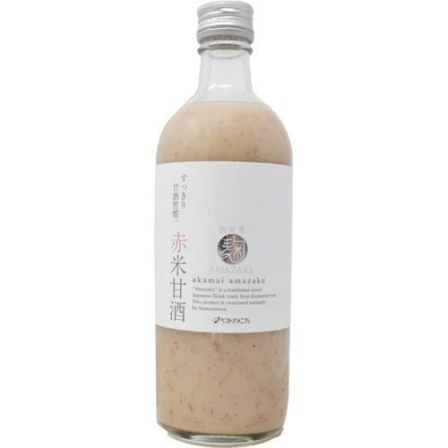 単品販売 麹AMAZAKE 赤米甘酒 525g [代引選択不可]