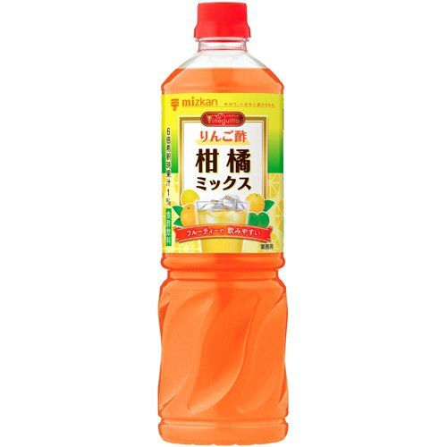 【ミツカン ビネグイット りんご酢 柑橘ミックス (6倍濃縮タイプ) 業務用 1L】