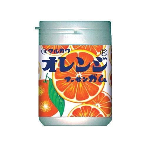 【オレンジマーブルガム ボトル 130g】