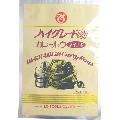 【テーオー食品 ハイグレード21 カレールウ マイルド 1kg】