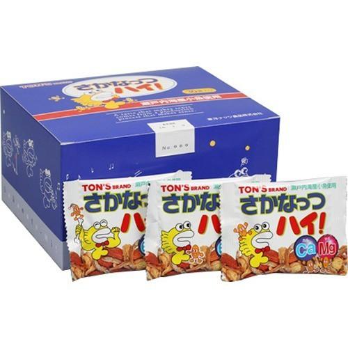 単品販売【東洋ナッツ食品 さかなっつハイ! 小箱 10g*30袋入小魚せんべい・小魚菓子 トン(ナッツ)】[代引選択不可]