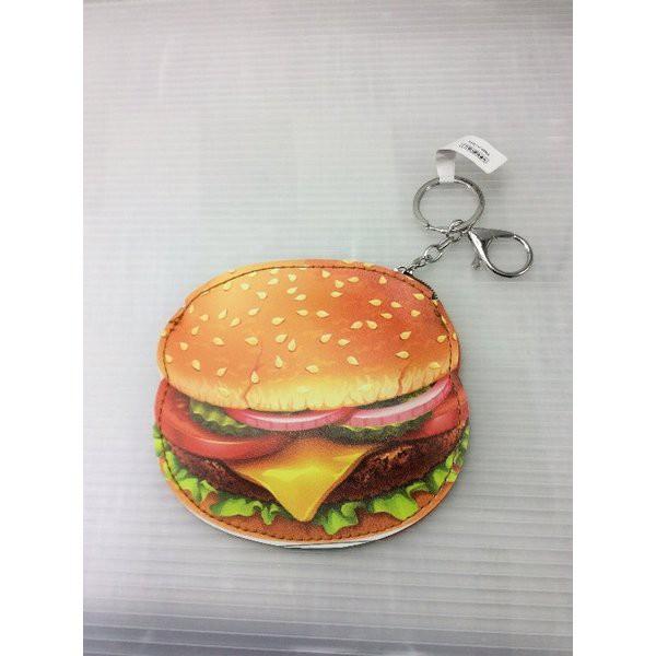 ハンバーガー コインケースK/C(リアル ハンバーガー)アメリカ雑貨 アメ雑 アメリカン雑貨