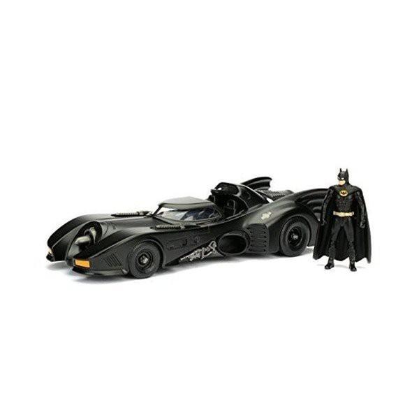 バットマン バットモービル JADA ミニカー 1989 BATMAN BATMOBILE W/BATMANアメリカンヒーローアメリカン雑貨