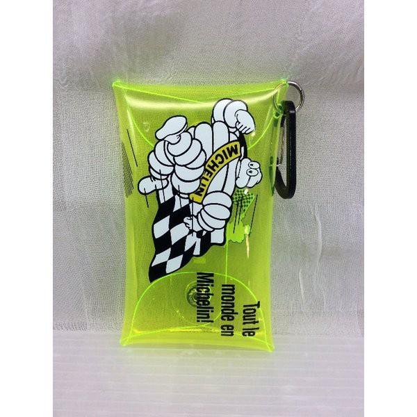 ミシュラン Michelin (イエロー)Clear pouch S/Run bib  ビバンダム 車 バイク アメリカン雑貨、アメリカ雑