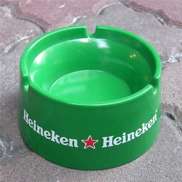 ハイネケン 企業販促 ノベルティ灰皿 Heineken ガレージ雑貨 バー用品 リカー 酒 アメリカン雑貨 アメリカ雑貨