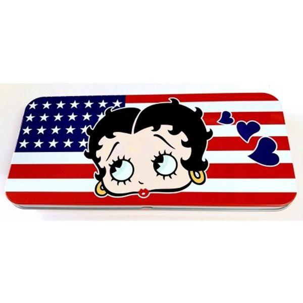 ベティーちゃん ベティブープBetty Boop カンペンケース ベティ フェイス BTST104 ベティちゃんアメリカン雑貨 アメリカ雑貨