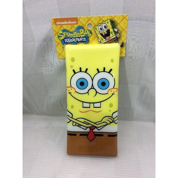 スポンジボブ SpongeBobクリアマルチケース Mサイズ ペンケース 筆箱 MSB-027 文具 アメリカンキャラクター アメ雑