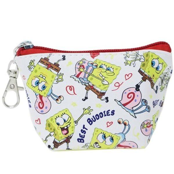 スポンジボブ SpongeBob ミニポーチ・デジカメポーチ スポンジボブ/三角 ミニポーチ/チラシ 人気 アメ雑 アメリカン雑貨