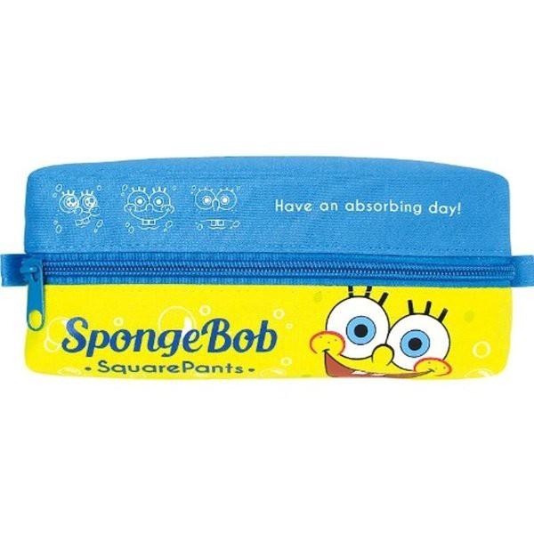 スポンジボブ SpongeBob  ダブルペンポーチ/ドアップ キャラクター かわいい 人気 アメ雑 アメリカン雑貨