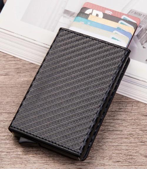 LAZA カードケース カード入れ ミニ財布 小銭入れ メンズ 小物 レザー キャッシュレス