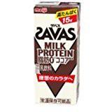 まとめ買いに、2ケース 送料無料 ミルクプロテインを手軽に摂取 人気のザバス 200ml 48本