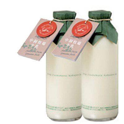 岩手県中洞牧場の牛乳720ml×3本【送料無料】 低温殺菌牛乳 代金引換不可