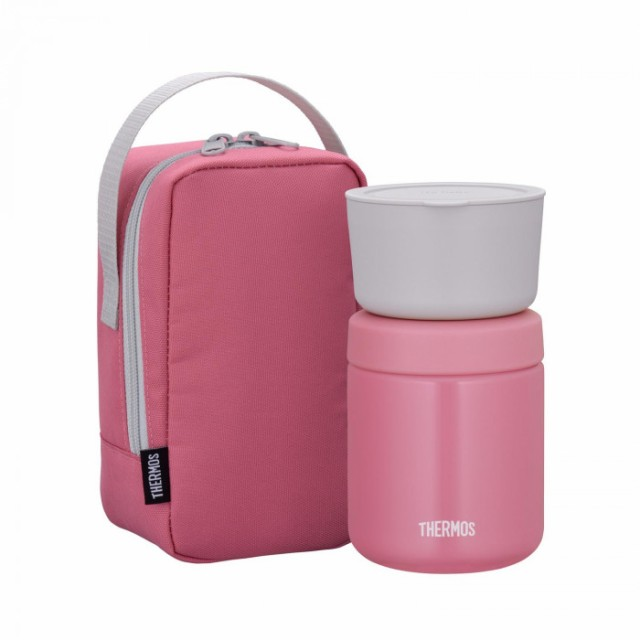 THERMOSサーモス真空断熱スープランチセットJBY-550Pピンク