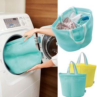 洗濯 バッグ 仕切り付き | まるごと洗える!『分別』『洗濯』『干す』便利に使える!生地を傷めないでお洗濯ができちゃう!