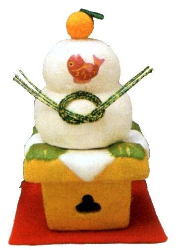 ちぎり和紙 鏡餅 (小) 迎春・お正月飾り 和雑貨 リュウコドウ