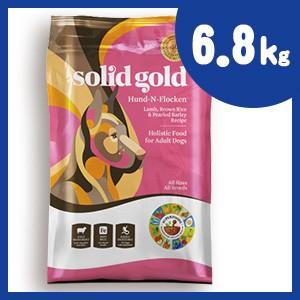 ソリッドゴールド フントフラッケン 6.8kg 老犬・成犬用ドッグフード SOLID GOLD 【正規品】