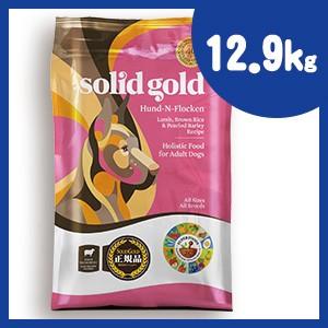 ソリッドゴールド フントフラッケン 12.9kg 老犬・成犬用ドッグフード SOLID GOLD 【正規品】