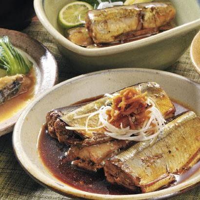 お惣菜 柔らかい さば 魚料理 みぞれ煮 しょうが煮 梅煮 骨まで食べられる 味噌煮 さんま 塩分控えめ レトルト 簡単 小野食品 「三陸お