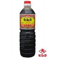 南鹿児島 濃口醤油 醤油ヒシク藤安醸造 こいくち むらさき 甘口 1L×6本 箱入り M