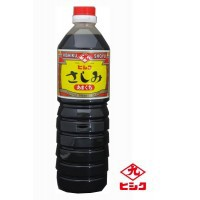 醤油 甘み 鹿児島ヒシク藤安醸造 こいくち 甘口さしみ 1L×10本 箱入り M