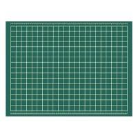 保護 カッターマット 特大 作業台 表裏 下敷き 緑 両面 ビニール セントラル 大〜きなカッティングマット 1200×900×3mm XL-2 M