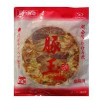 送料無料 同梱不可本場関西風 業務用 冷凍お好み焼き 豚玉 10枚セット