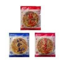 おかず 食品 大阪本場関西風 業務用 冷凍お好み焼き 豚玉・いか玉・ミックス焼 3種食べくらべ 各3枚セット M