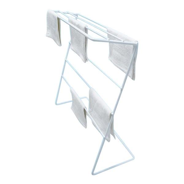 物干し 大容量 タオル掛け ダスタースタンド Z型 21枚掛け ぞうきんスタンド タオルハンガー タオルラック 清掃用品 雑巾