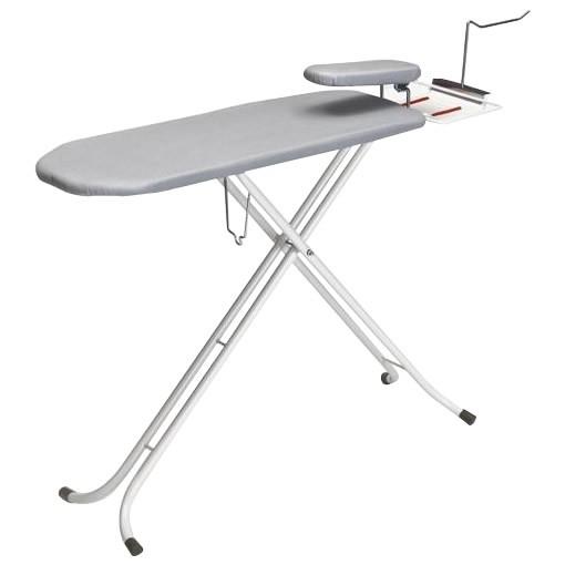 コンパクト スタンド式 収納 3WAY 便利 調整 椅子 床 スタンドタイプ 仕上馬付 アイロン台(ハンガーフック付) NSB-5HF