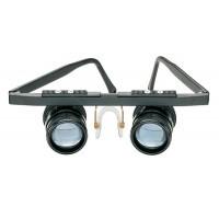 虫眼鏡 望遠 シンプル 眼鏡型 プロ 青レンズ メガネタイプ 拡大鏡 エッシェンバッハ 双眼ルーペ テレ・メッド(遠眼) (3倍) 1634