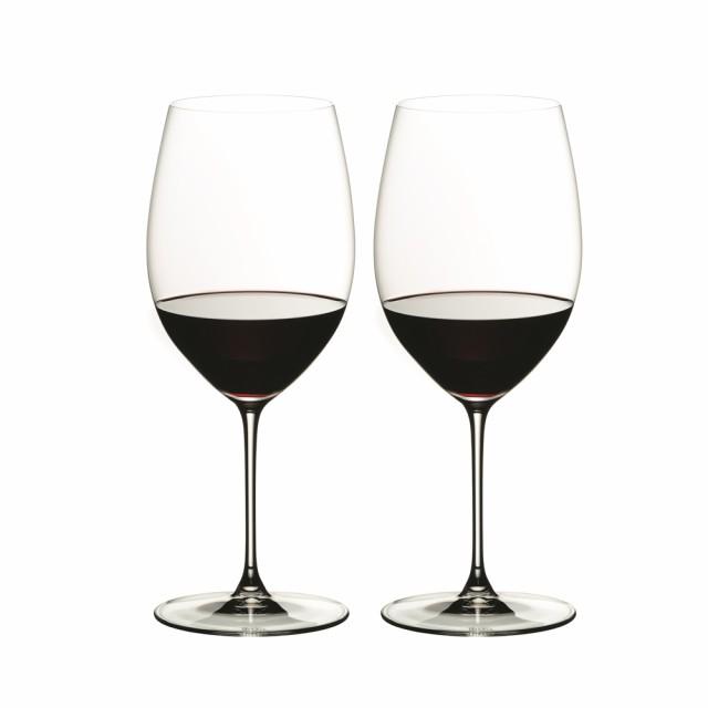 クリスタル カップル グラス 夫婦 パーティー 食器 ペア お酒 ギフト プレゼント リーデル ヴェリタス カベルネ/メルロー ワイングラ