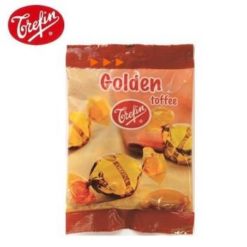 M おやつ 飴 キャンディ 香ばしい 無着色 ベルギー バター風味 甘さ 濃厚 お菓子 Trefin・トレファン社 ゴールデンタフィ 100g×20袋