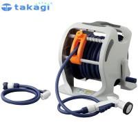 takagi タカギ 園芸散水用品 ホースリール マーキュリーツイスター(NB30m)