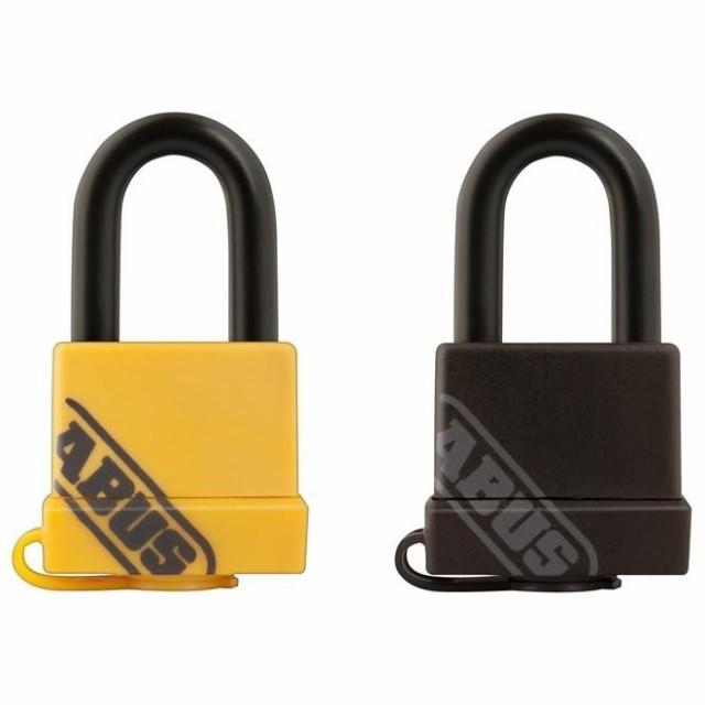 強い 風 鍵 ABUS(アバス) 防水南京錠 BP70/35 35mm 3本キー 雨 長く使える コンパクト エコ 鍵穴カバー 吊り長タイプ