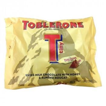マッターホルン スイス アーモンドヌガートブラローネ ミルクチョコレート タイニーミルクバッグ 200g×20袋セット M