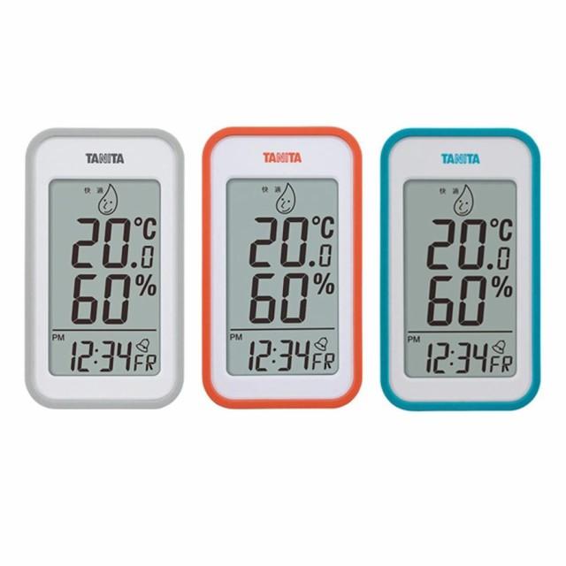 アラーム 湿度計 置き時計TANITA タニタ デジタル温湿度計 TT-559 C