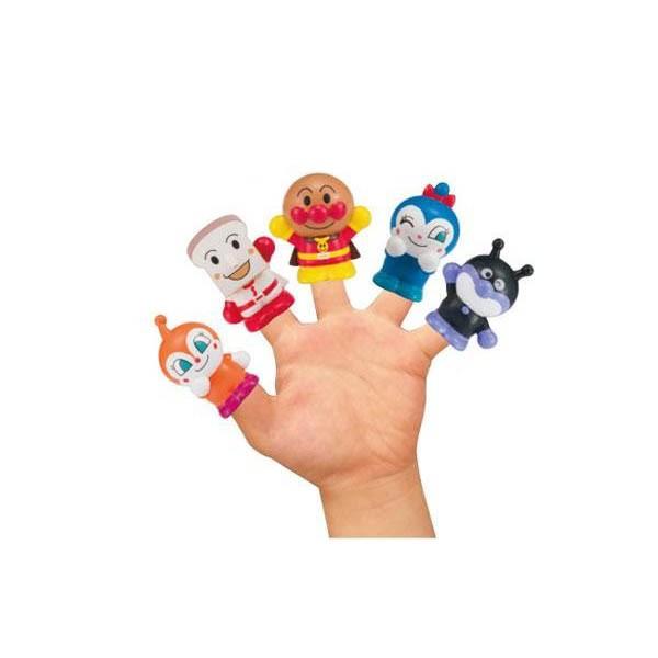 アンパンマン にこにこ指人形 10585 おもちゃ キャラ ドキンちゃん